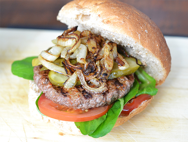 slankere hamburger