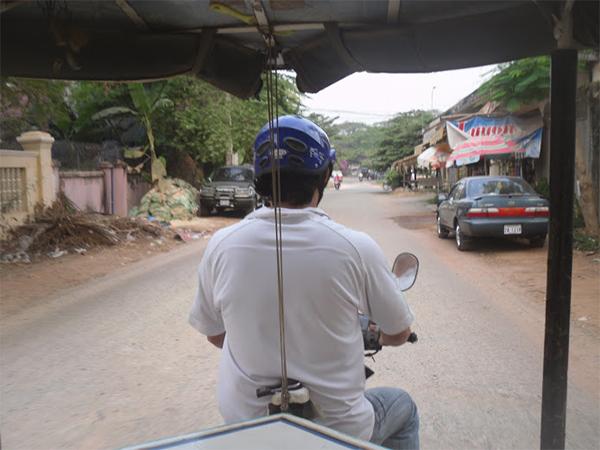 Tuk Tuk Cambodja