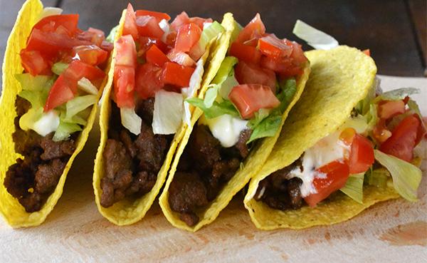 Taco bell Crunchy Taco Supreme