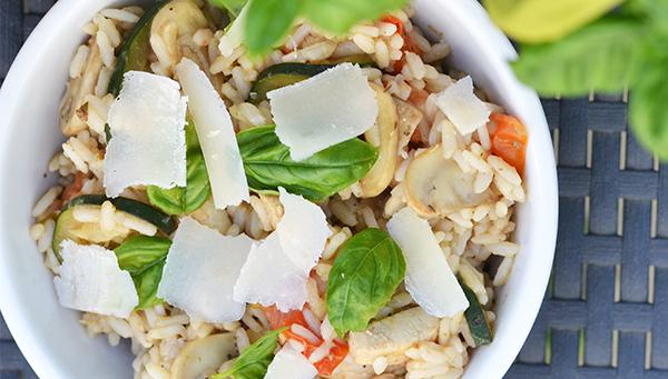 mediterrane rijstsalade