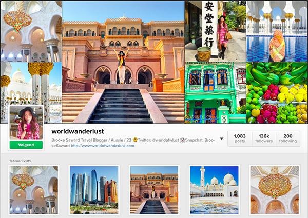 Mijn favoriete Travel Instagramaccounts