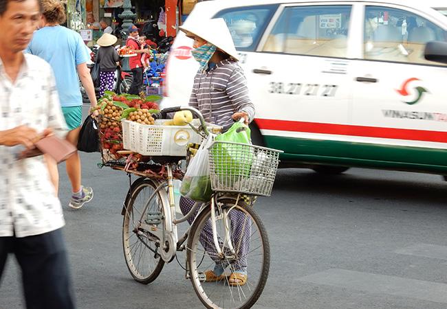 Het Vietnamese Straatbeeld