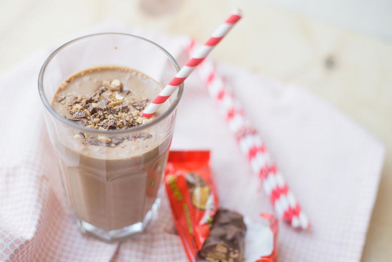 Pindakaas & Nutella milkshake