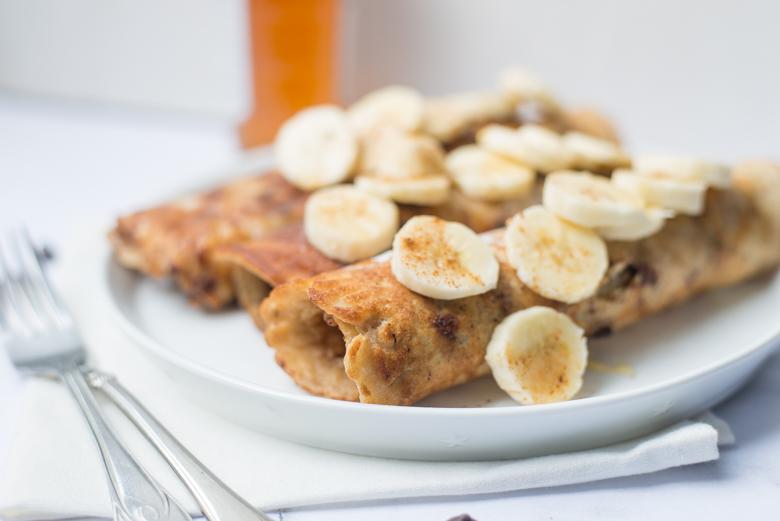 Bananabread pancakes