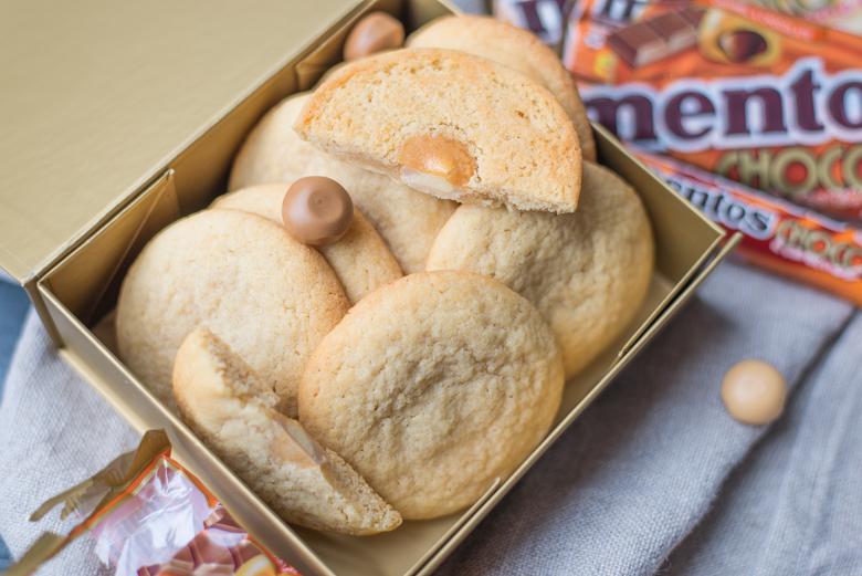 Gevulde Choco & Caramel Cookies