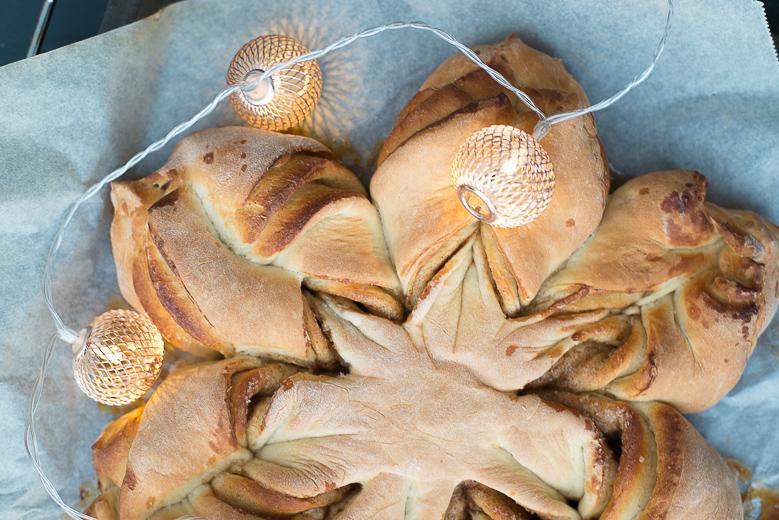 Kerststerbrood