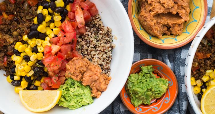 Quinoa tacobowl