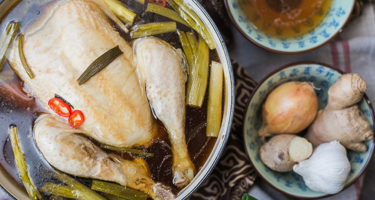 Aziatische kippensoep van Donna Hay