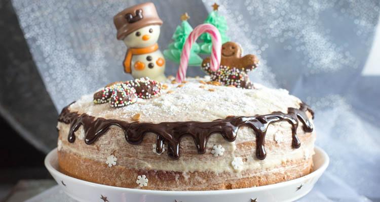 Kerst-dripcake