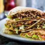 Cheeseburger Quesadilla's