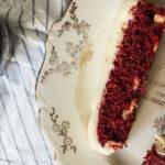 Red Velvet & Witte chocolatechip repen met creamcheese