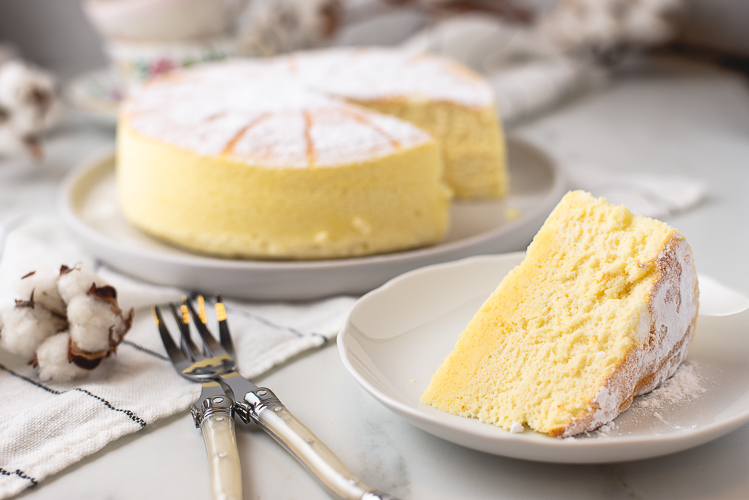 Japanse Cotton Cheesecake