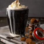 Witte chocolademelk met pumpkin spice