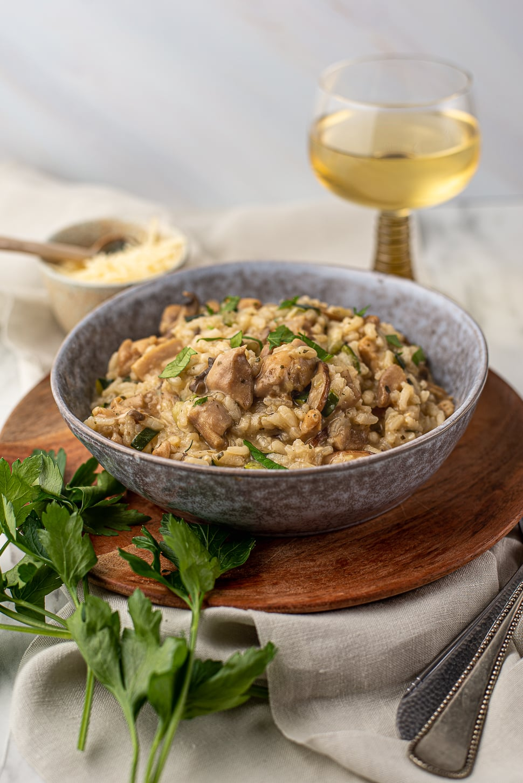 Zonder pakje: Italiaanse risotto