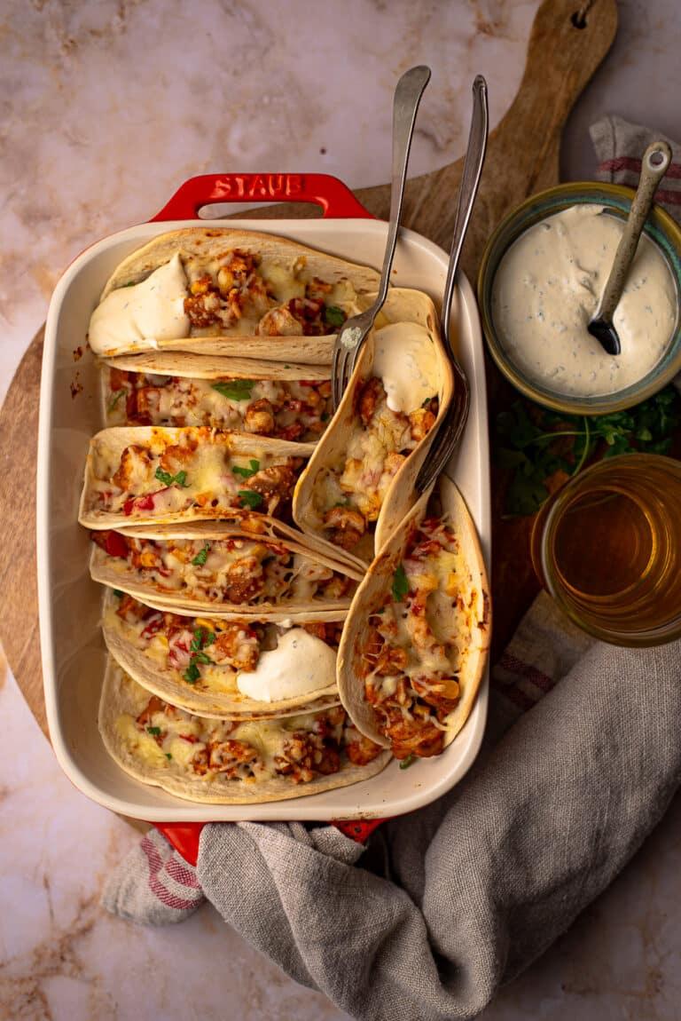 Zonder pakje: Mexicaanse burrito's