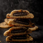 Oreo Stuffed chocolatechip cookies