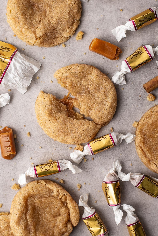 Snickerdoodles met karamel