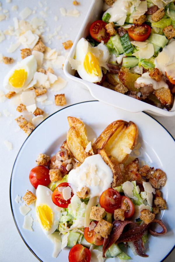 Caesar Salad Kapsalon
