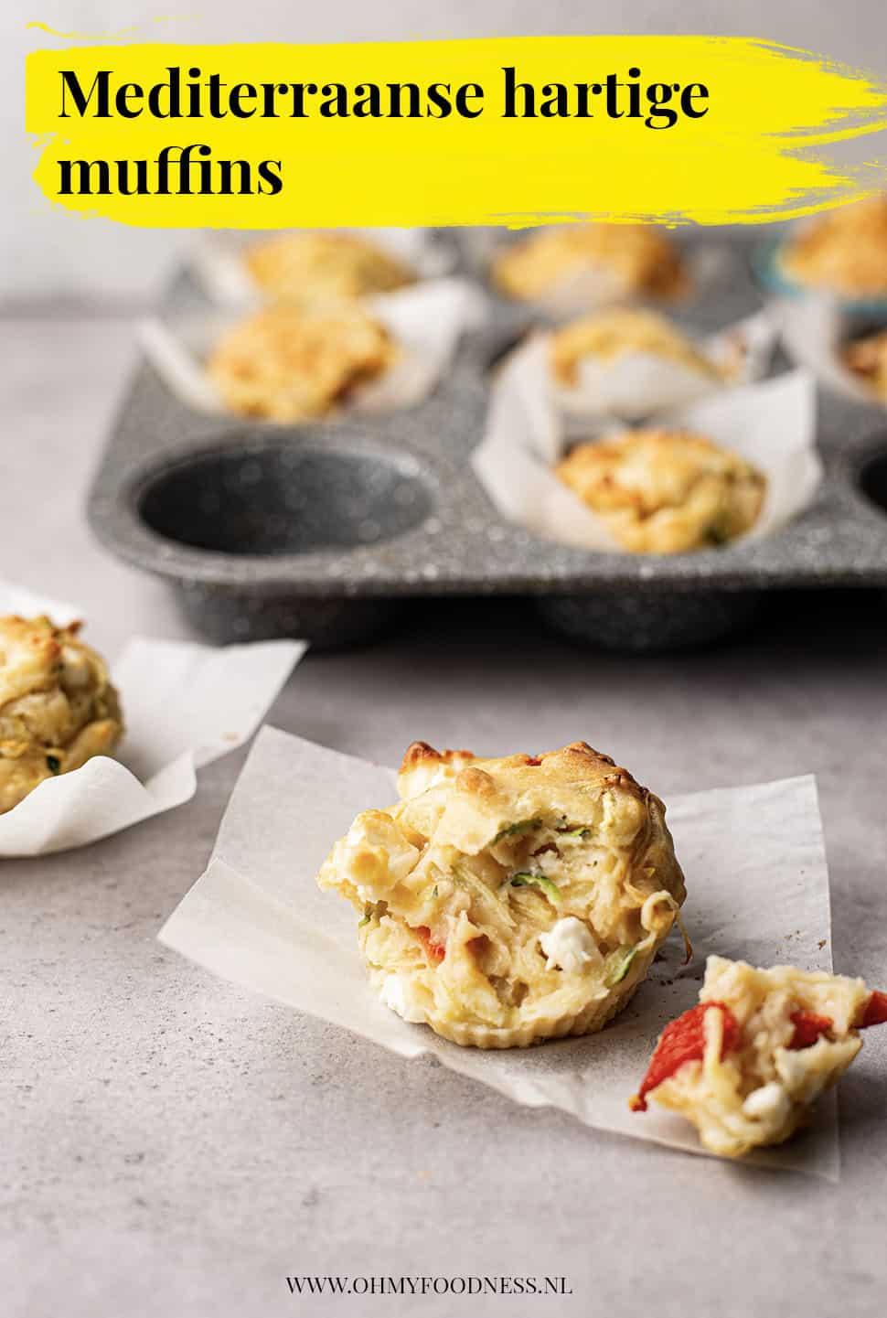Mediterraanse hartige muffins