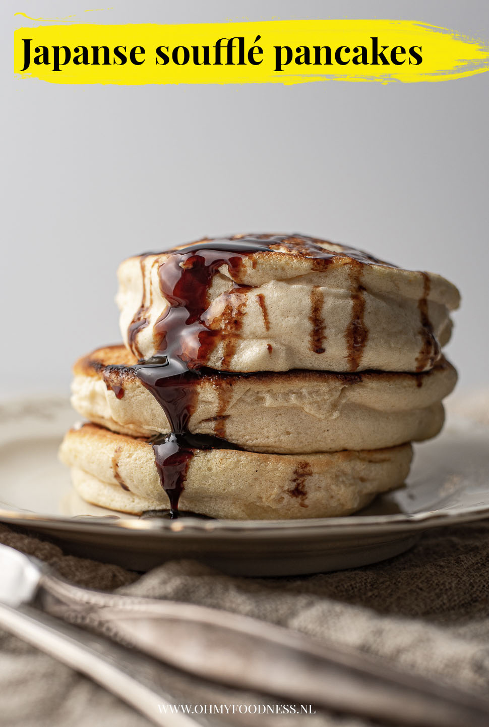 Japanse souffle pancakes