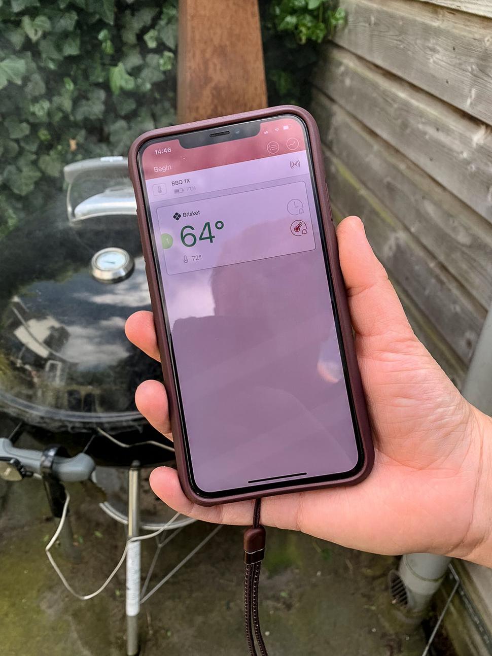 Budgetproof bluetooth thermometer voor de BBQ