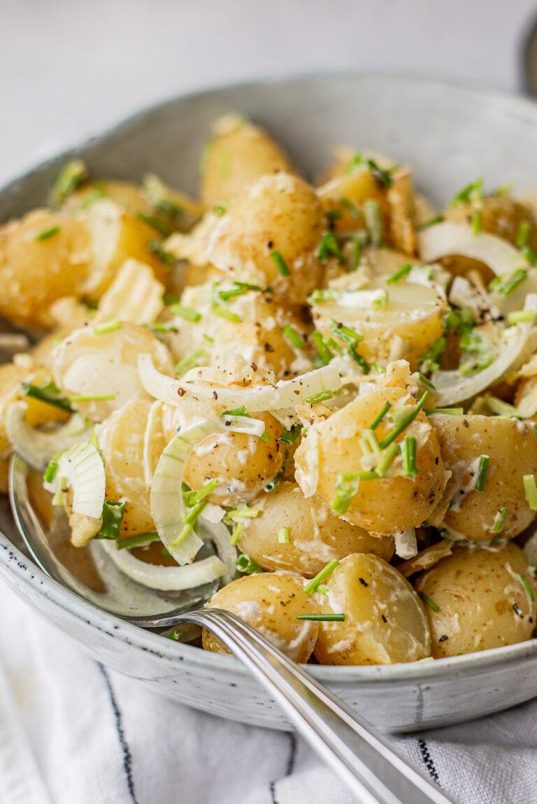 Sourcream & Onion aardappelsalade
