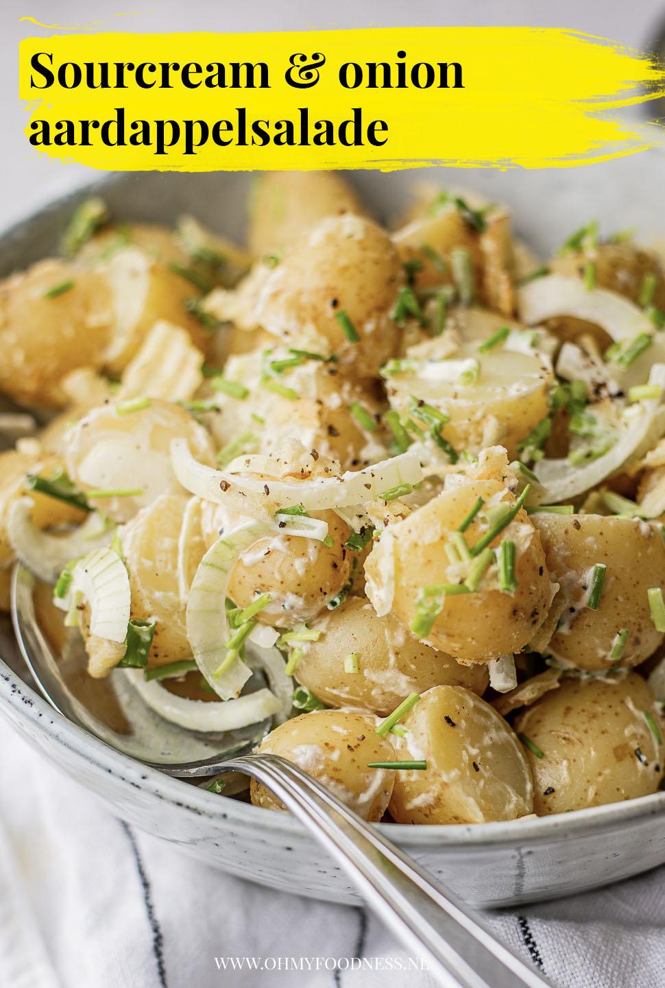 Sour cream & Onion aardappelsalade