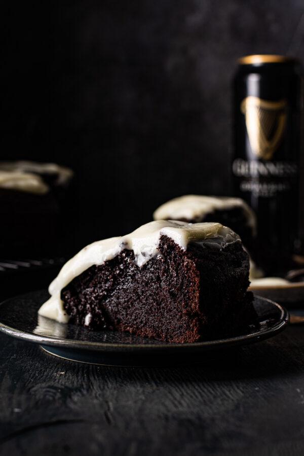 Chocolade-guinness cake